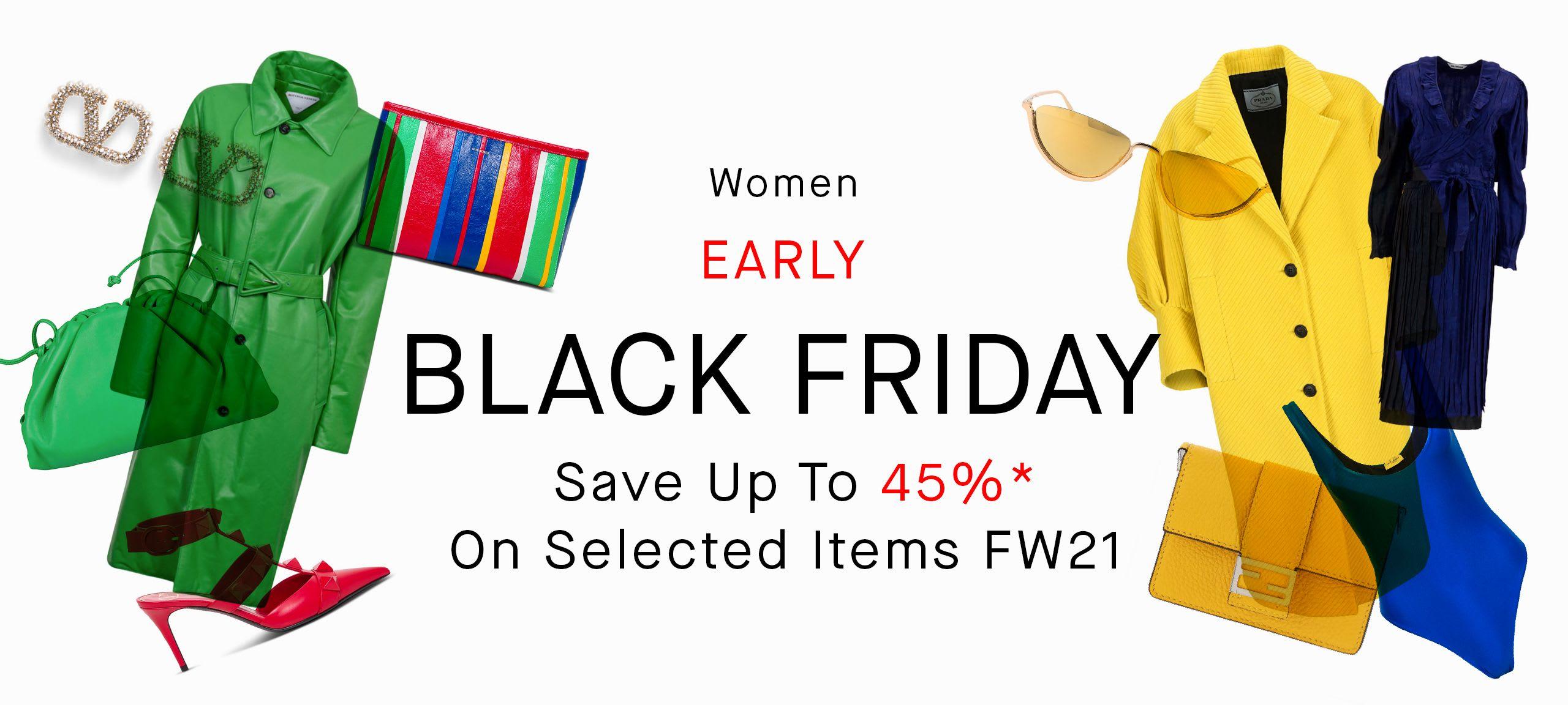 Women Black Friday Sale by italist