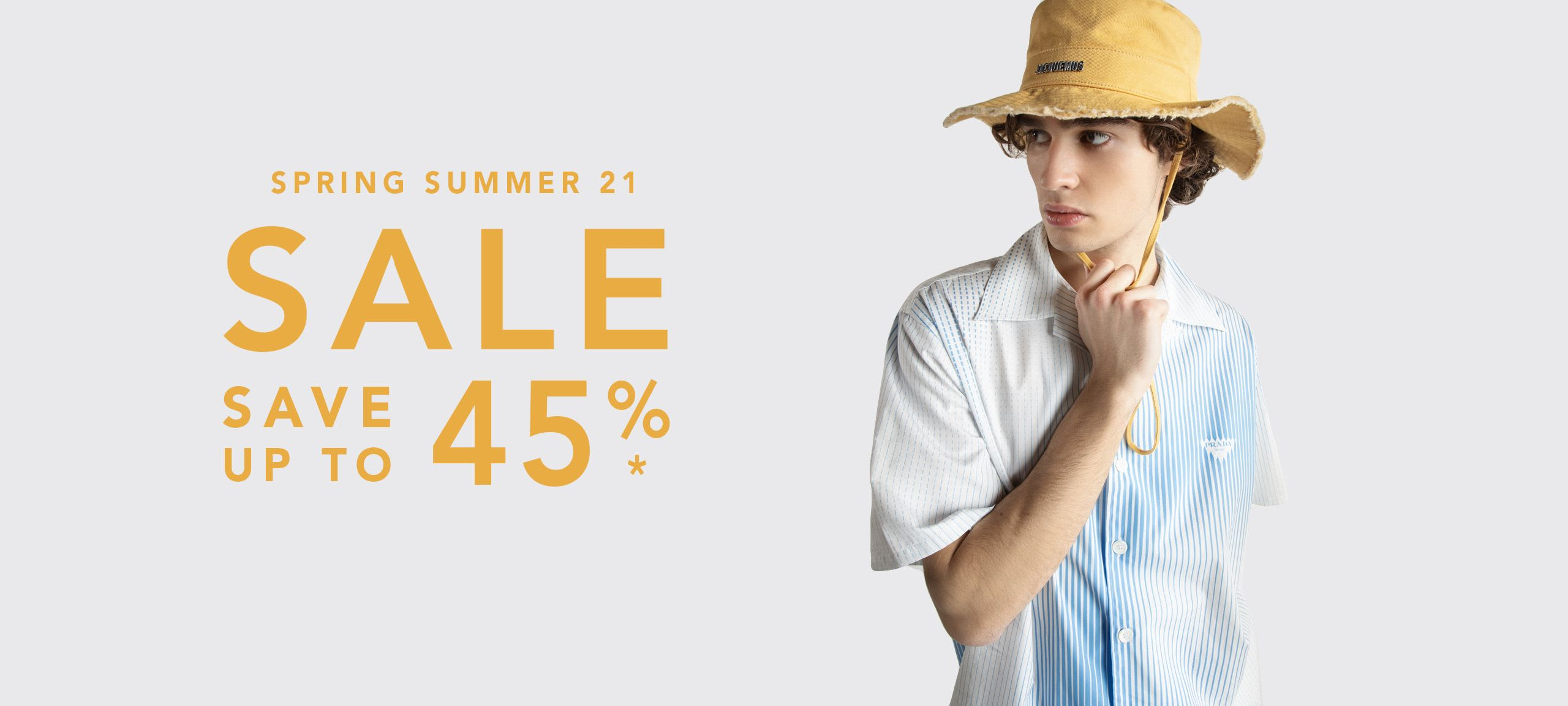Men Spring Summer 21 Sale by italist