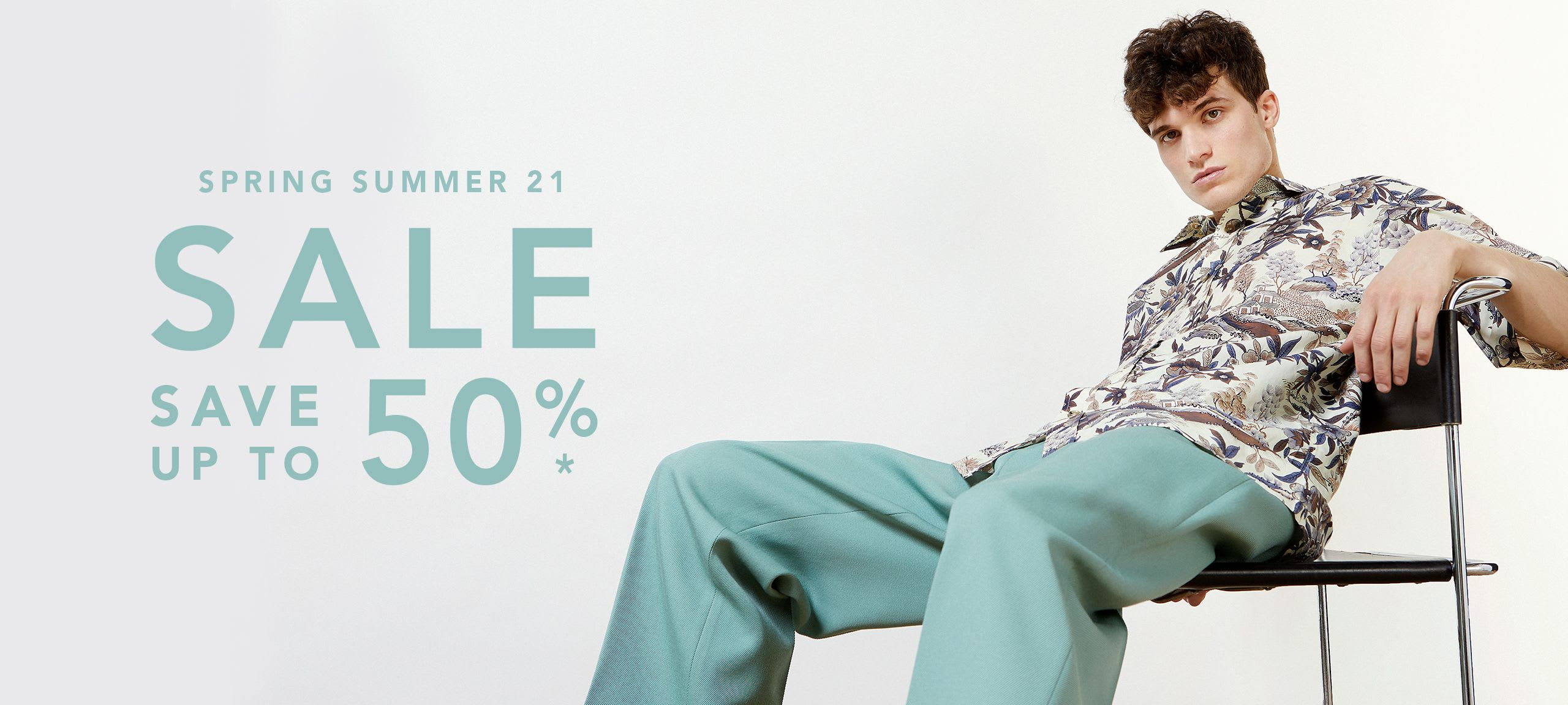 Men Spring Summer 21 Sale by italist