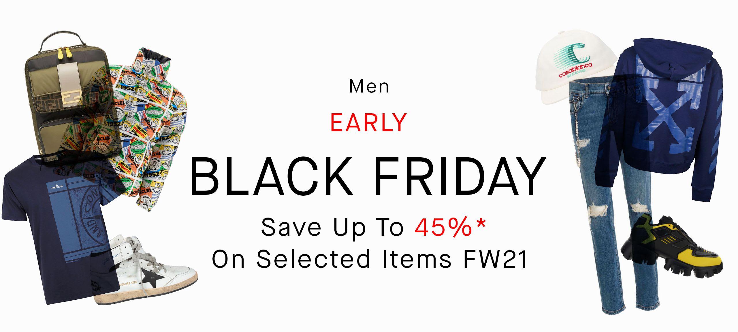 Men Black Friday Sale by italist