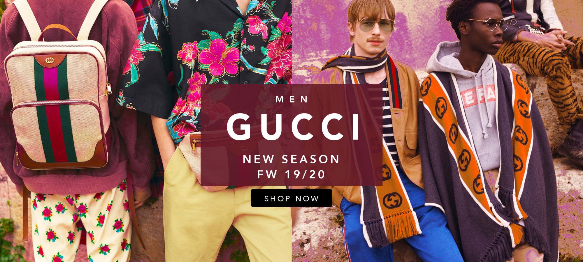 Gucci Men Fall Winter 19/20 by italist