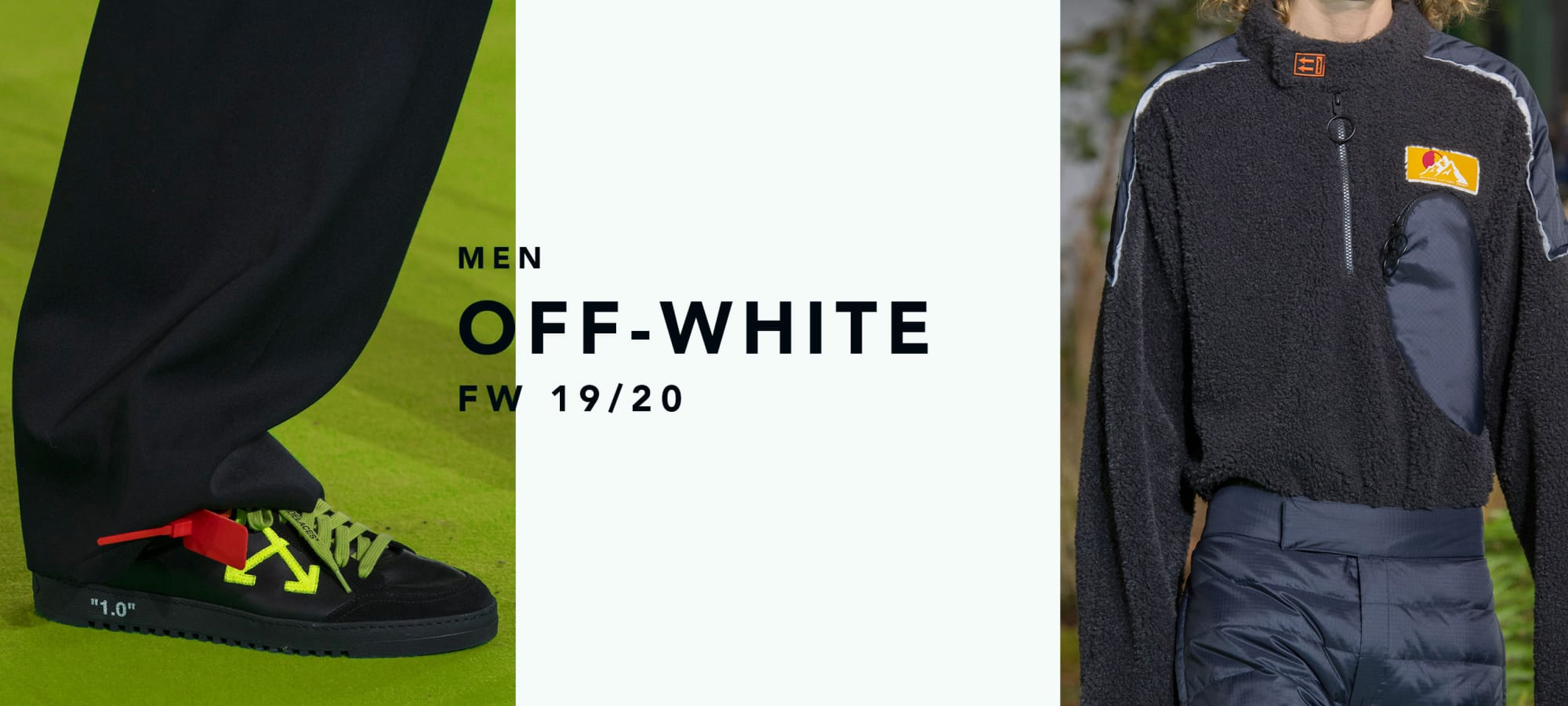 Off-White Men Fall Winter 19/20 by italist