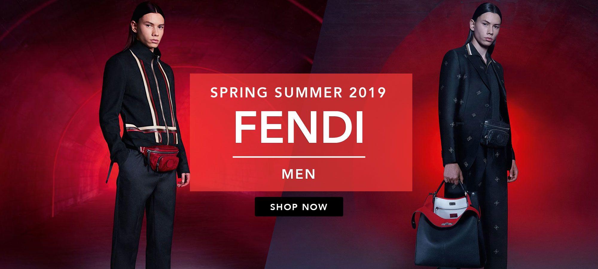 Fendi Men Spring Summer 2019 by italist