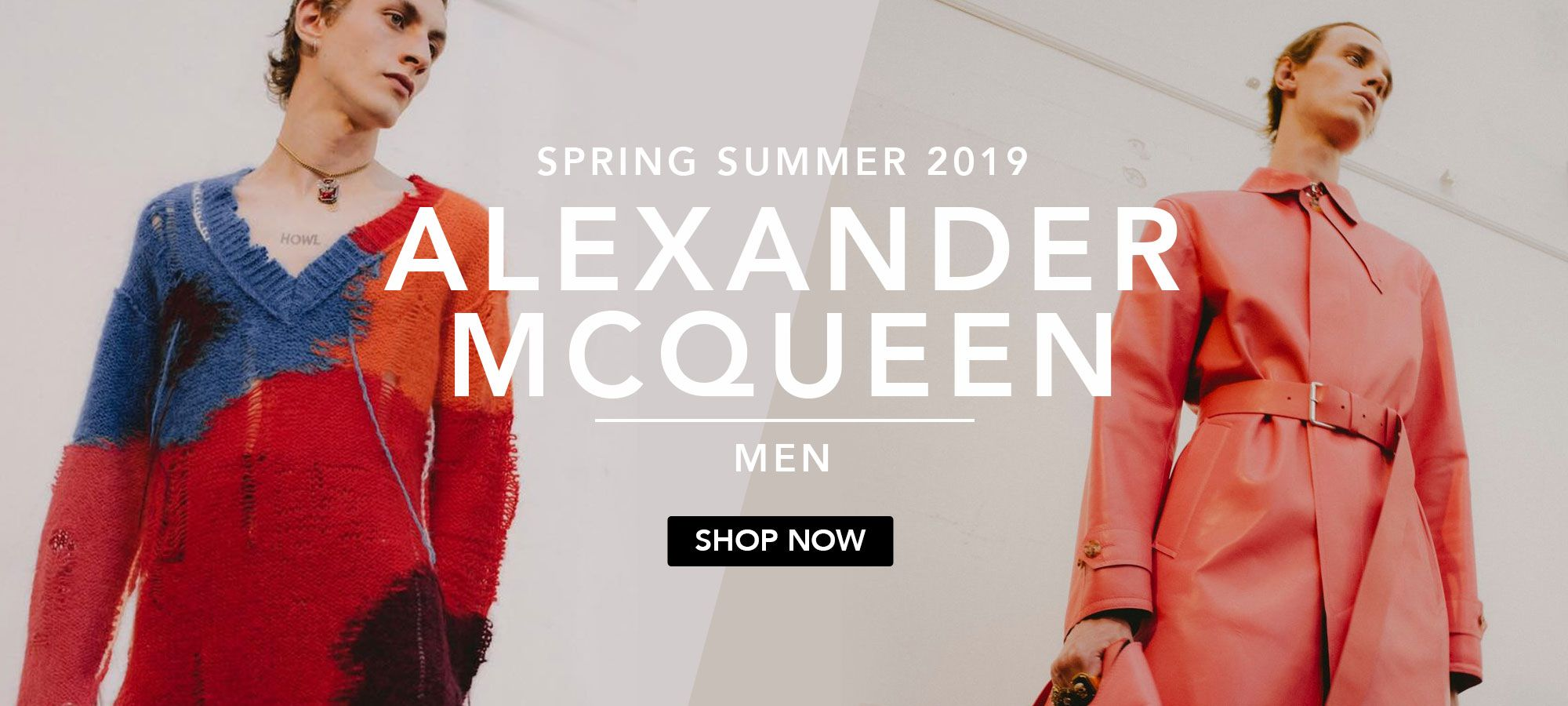 Alexander McQueen Men Spring Summer 2019 by italist