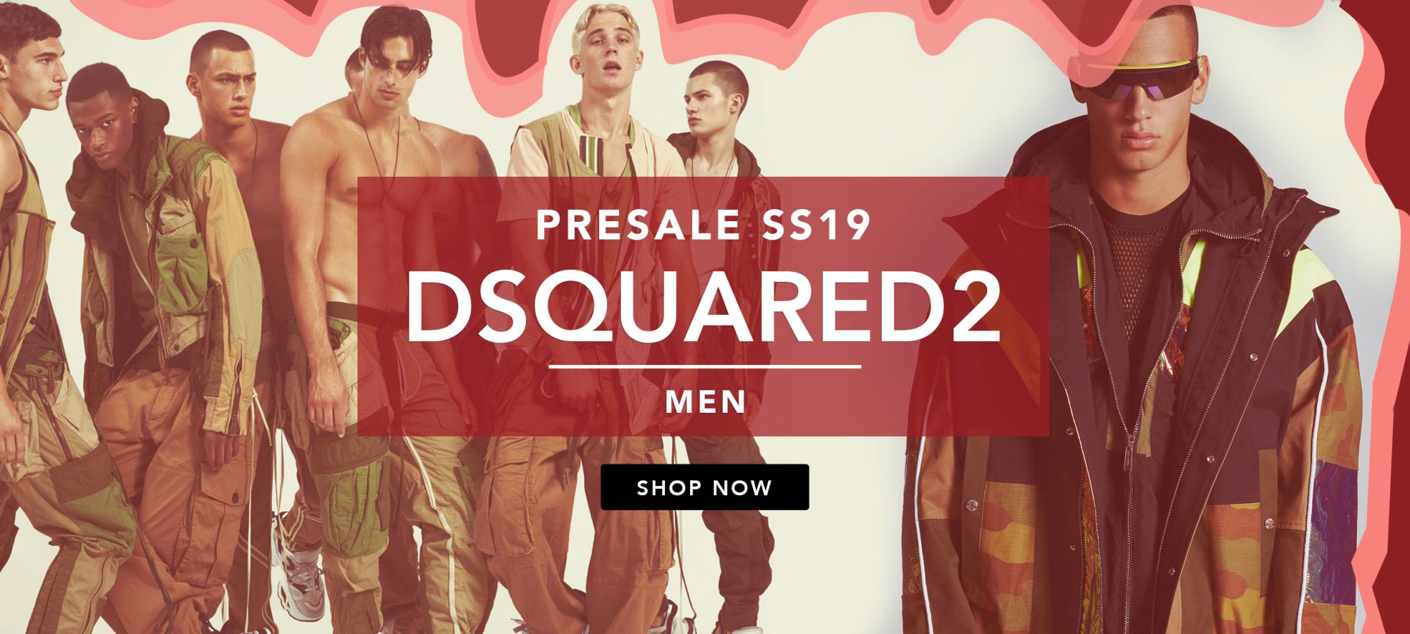 Dsquared2 Men Spring Summer 2019 by italist