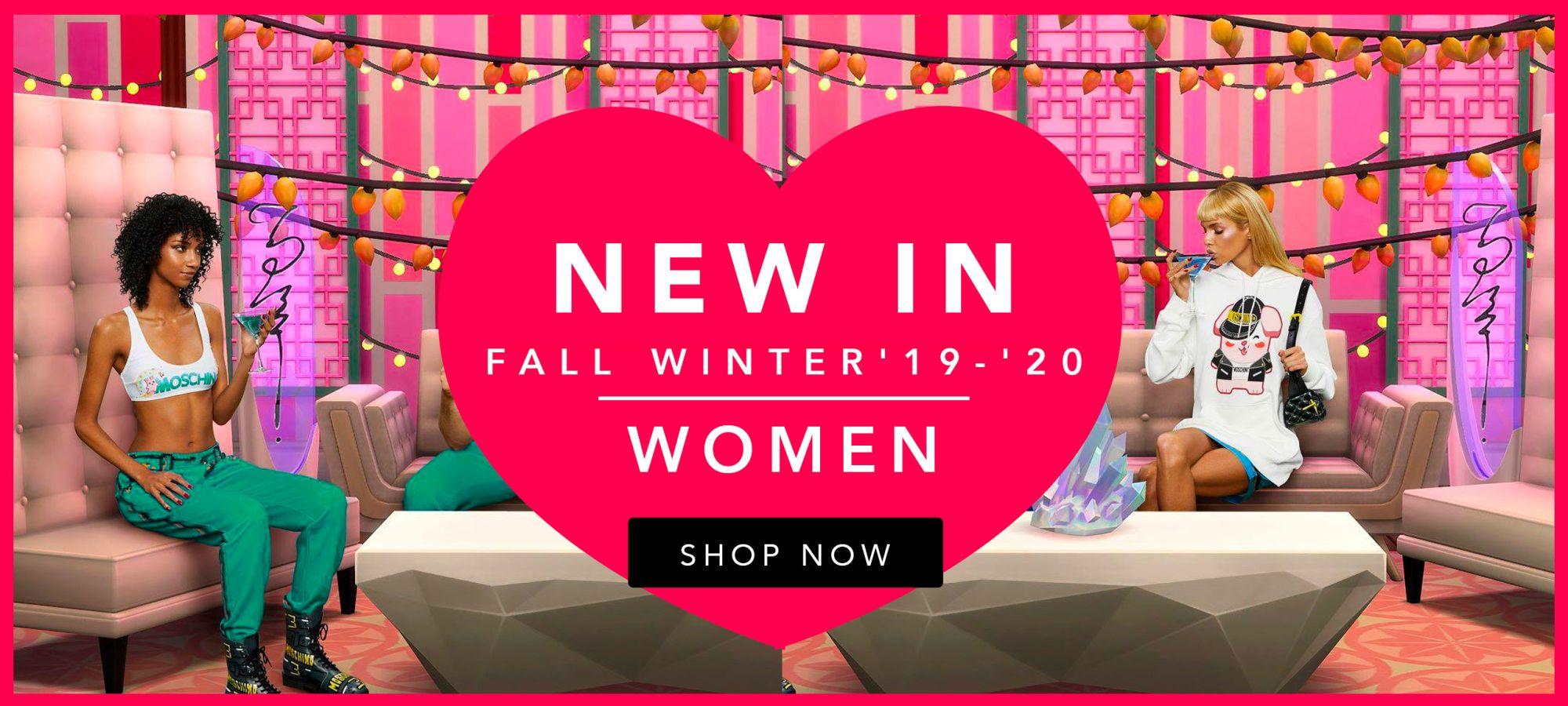 Moschino Women Fall Winter 2020 by italist