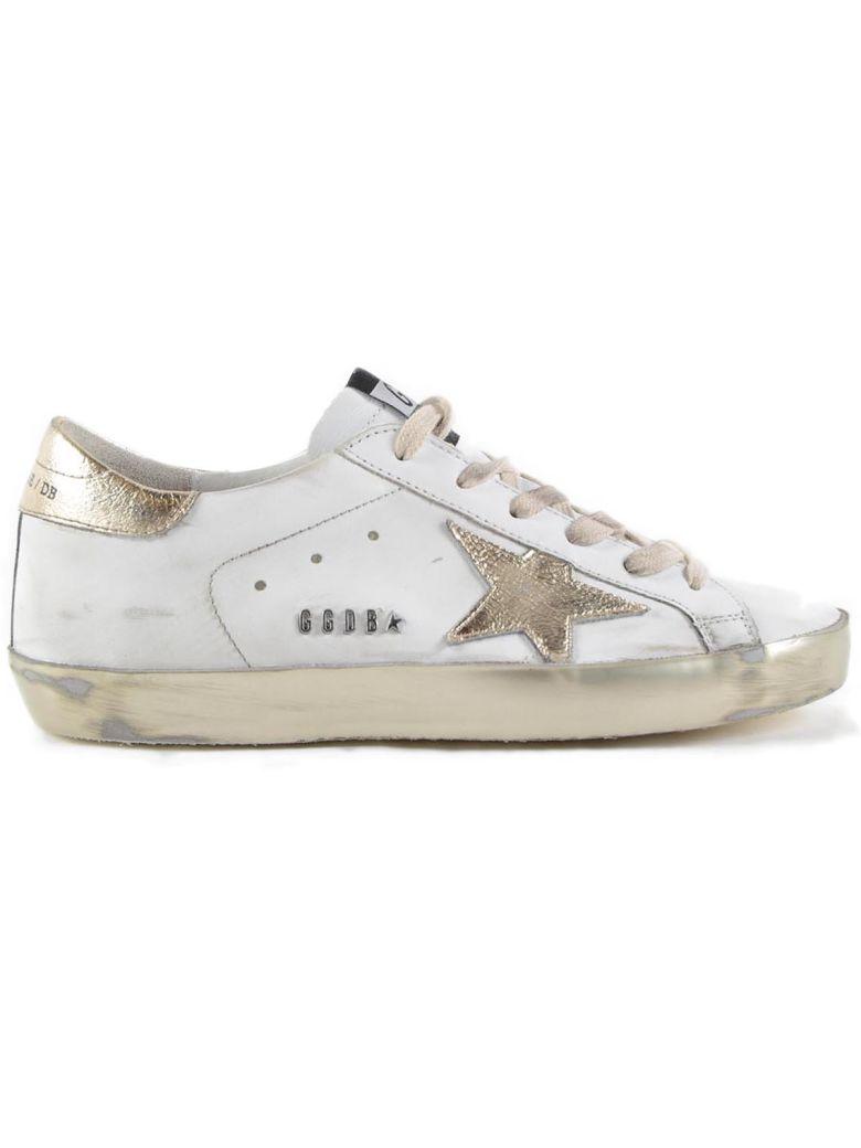 Golden Goose Sneakers Superstar - White/gold