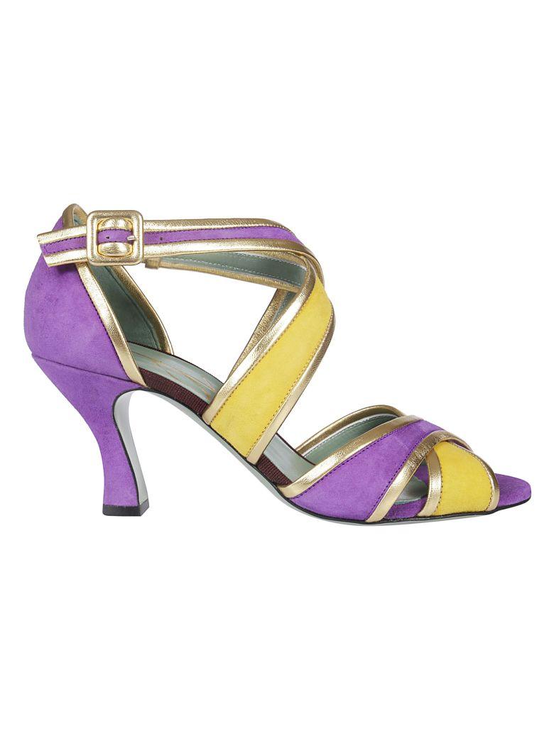 Paola D'Arcano Cross Straps Sandals - Basic