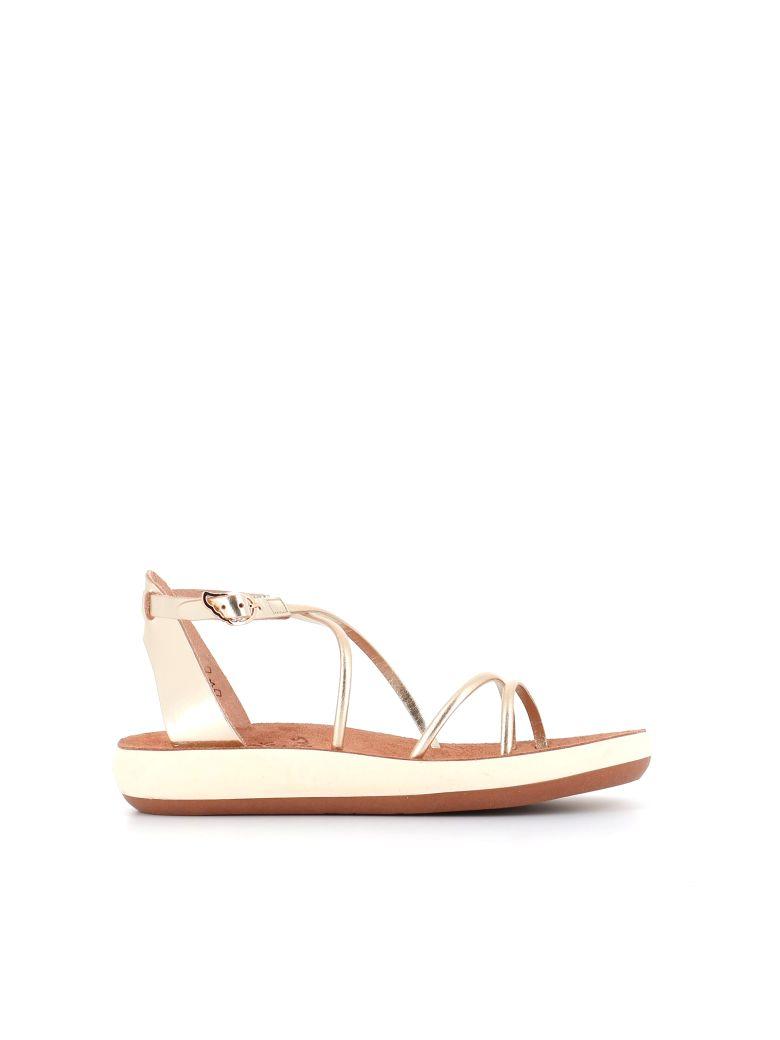 "Ancient Greek Sandals Mules  ""anastasia"" - Gold"