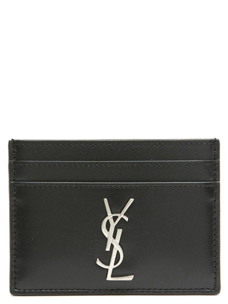 Saint Laurent 'monogramme' Cardholder - Black
