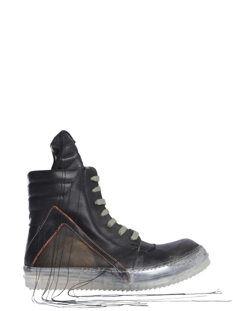 Rick Owens Geobasket Sneakers - NERO