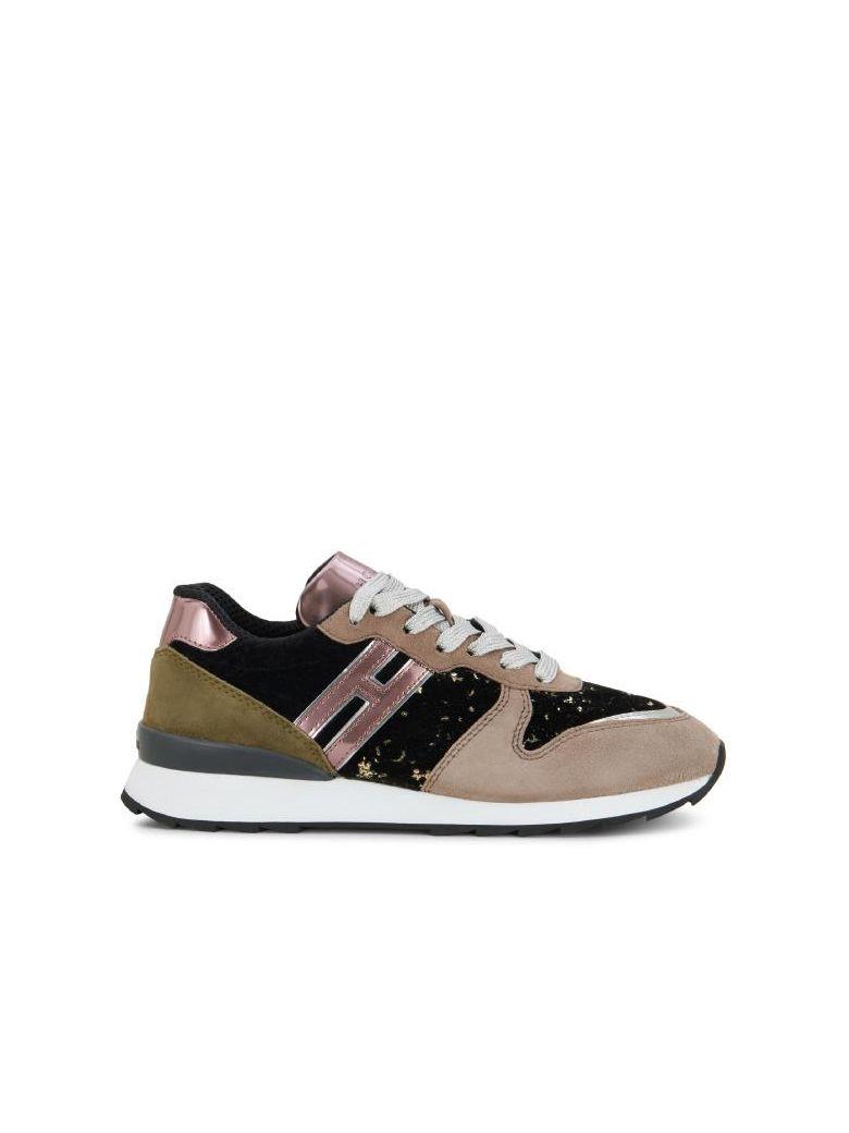 2ec97748e9fb4 Hogan Running R261 Multicolor Paillettes - Pink - 8153387   italist