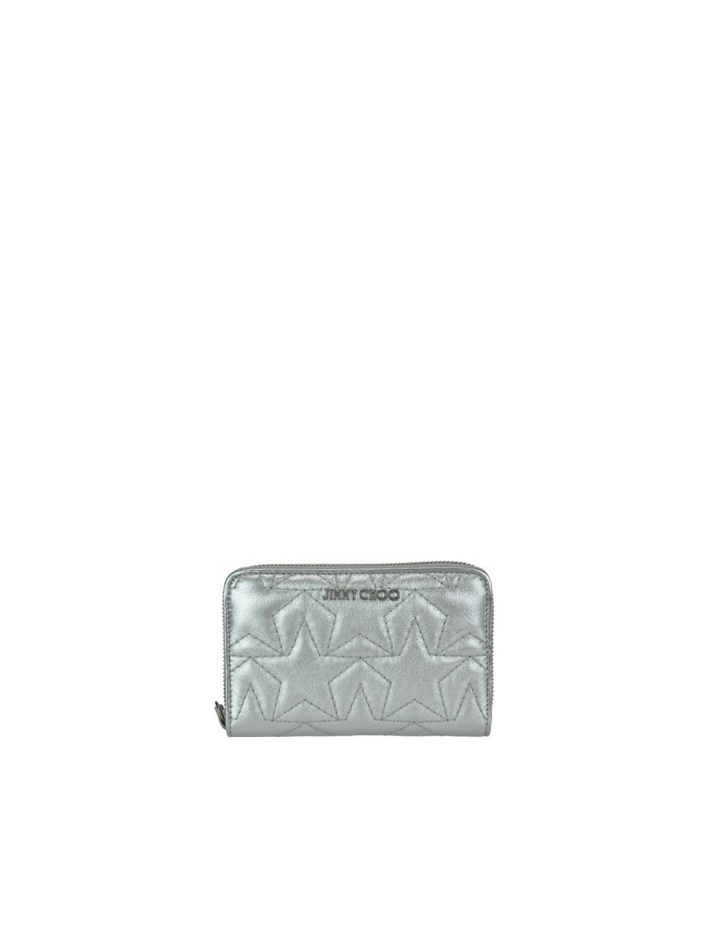 Jimmy Choo Halley Wallet - Silver