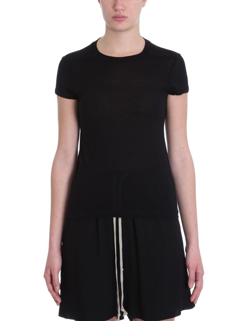 Rick Owens Short Level T-shirt - black