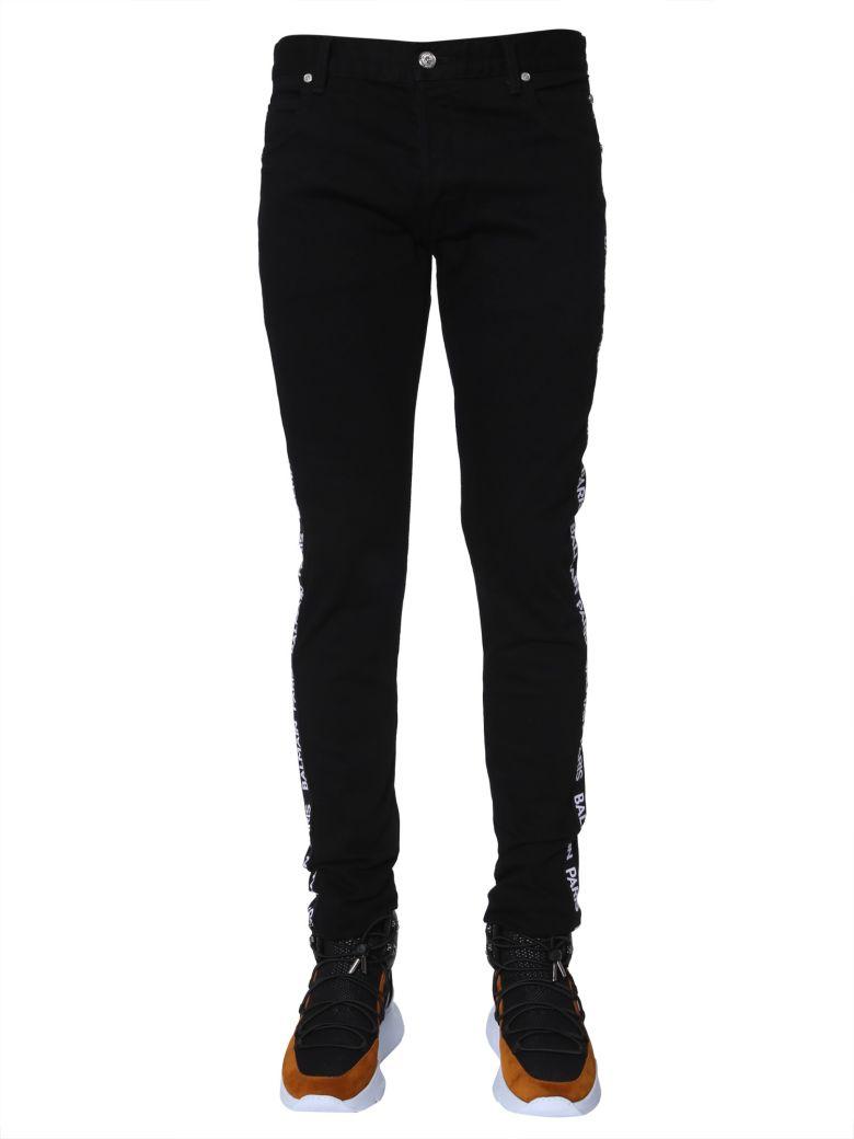 Balmain Slim Fit Jeans - NERO