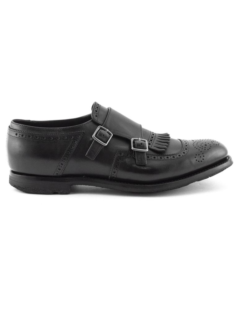 Church's Black Shanghai Monk Shoes - Nero