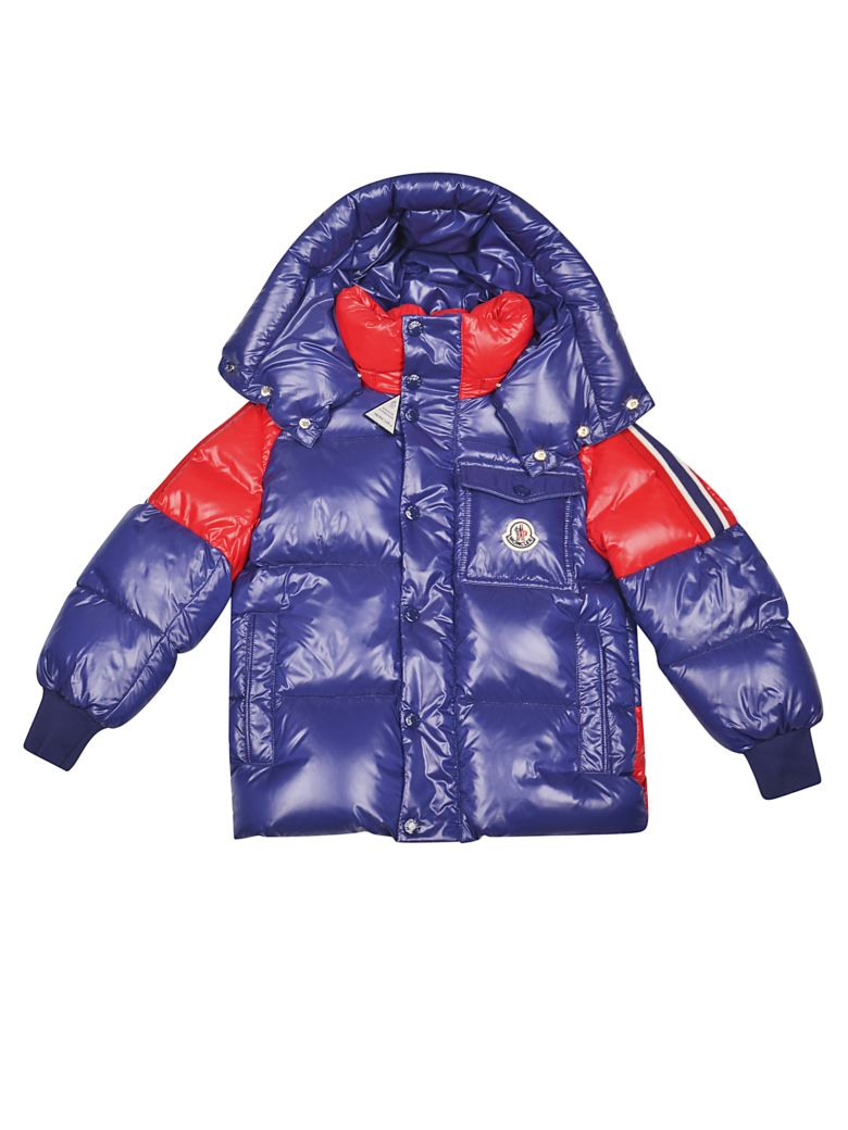 Moncler Kids' Sigean Down Jacket In Blue