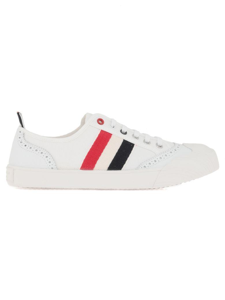 Thom Browne Lo-top Sneaker - WHITE