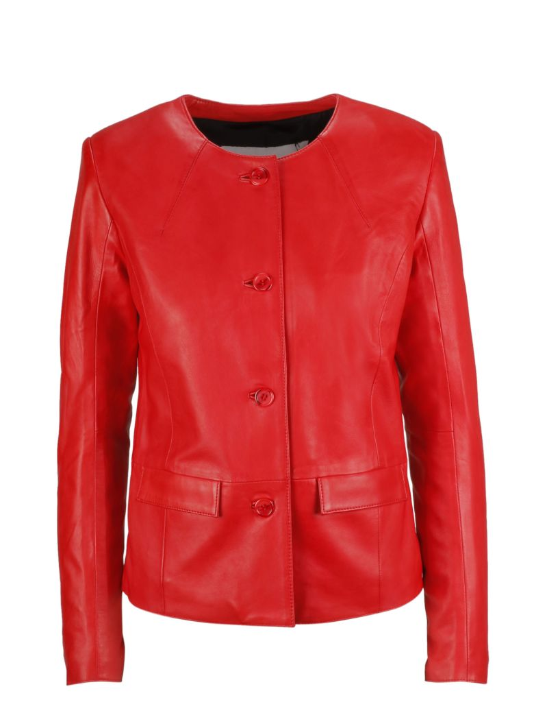 S.W.O.R.D 6.6.44 S.w.o.r.d 6.6.4.4. Buttoned Jacket - Rosso