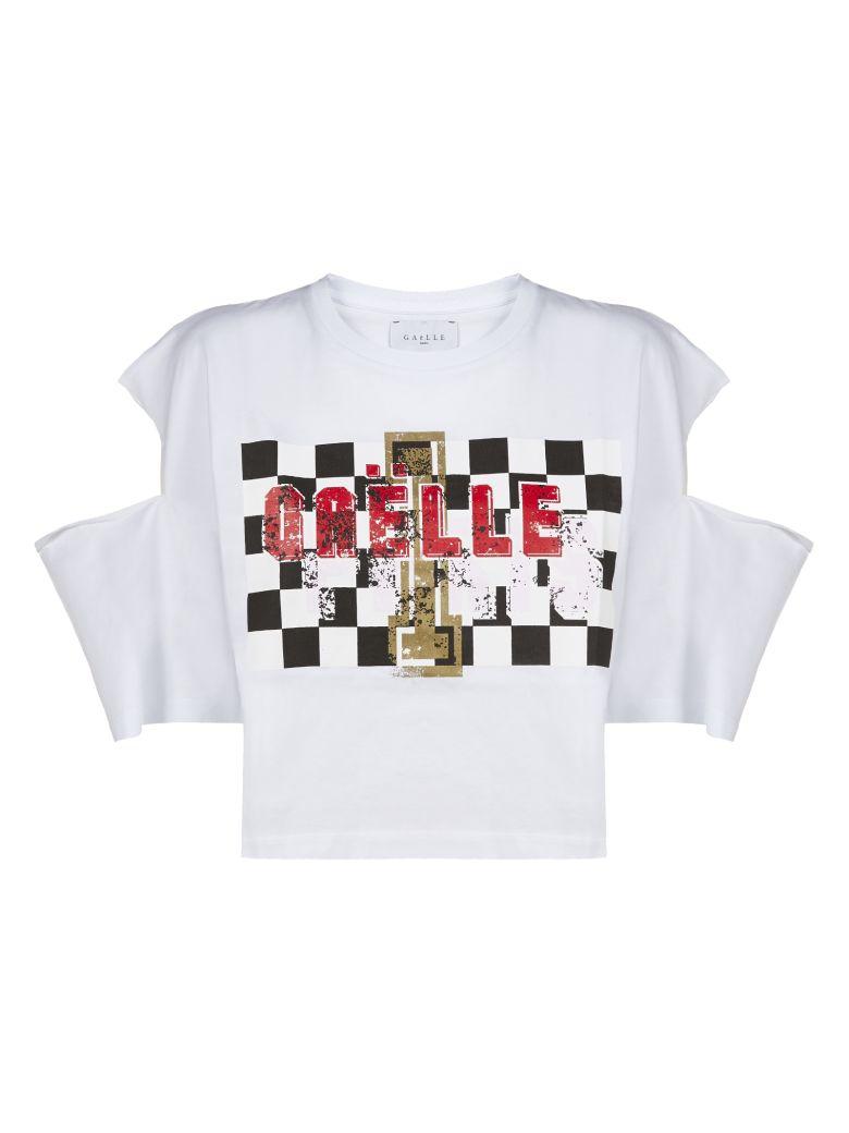 Gaelle Bonheur Cut Out T-shirt - Bianco multicolor
