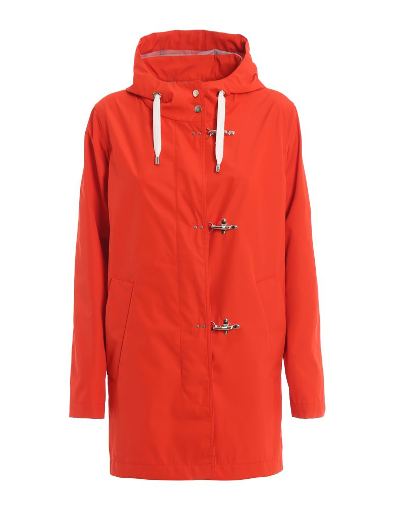 Fay Coat - Orange