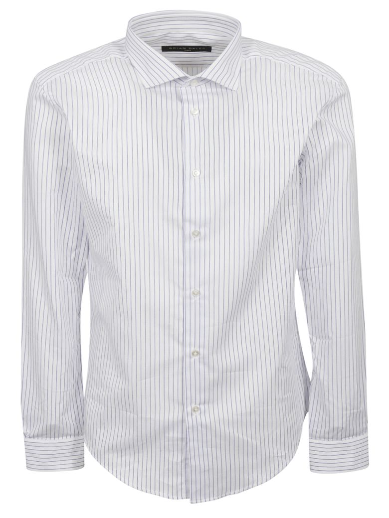 Brian Dales Striped Pattern Shirt - Basic