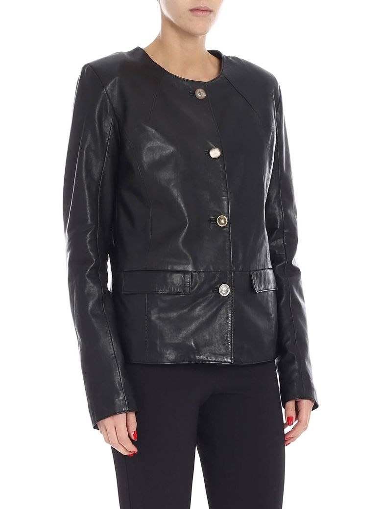S.W.O.R.D 6.6.44 S.w.o.r.d. - Leather Jacket - Black