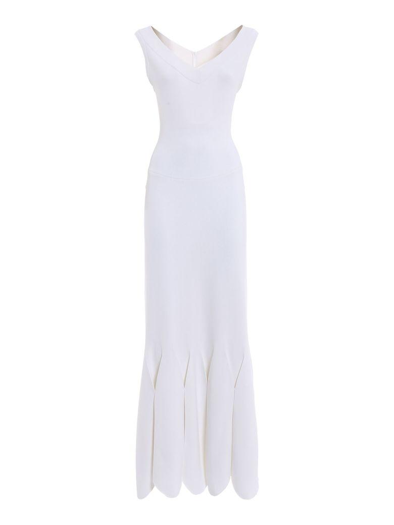 Alaia Mermaid Long Dress - White