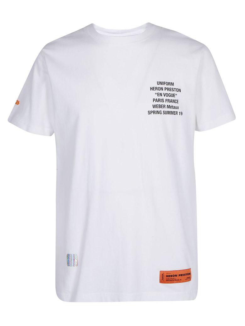Heron Preston T-shirts HERON PRESTON METAL WORKER T-SHIRT