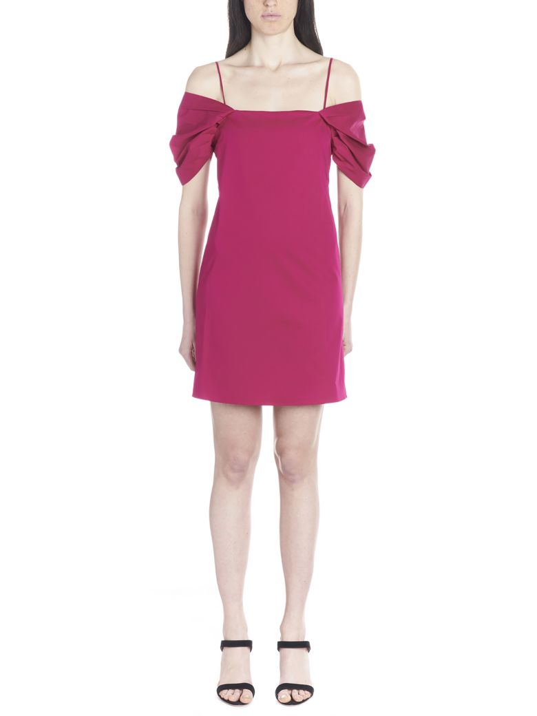 Theory Dress - Fuchsia