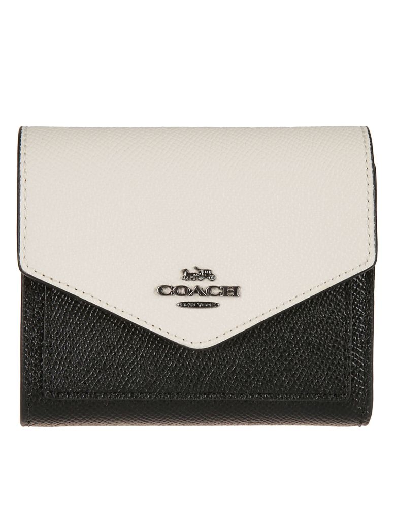 Coach Logo Wallet - Black multi