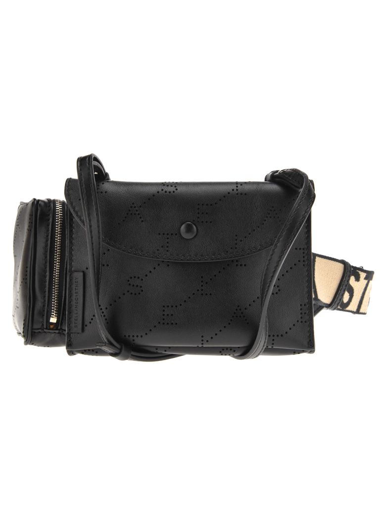 Stella McCartney Utility Belt Bag Monogram   Monogram Alt - Black
