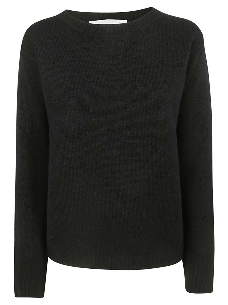 Saverio Palatella Round Neck Sweater - Black