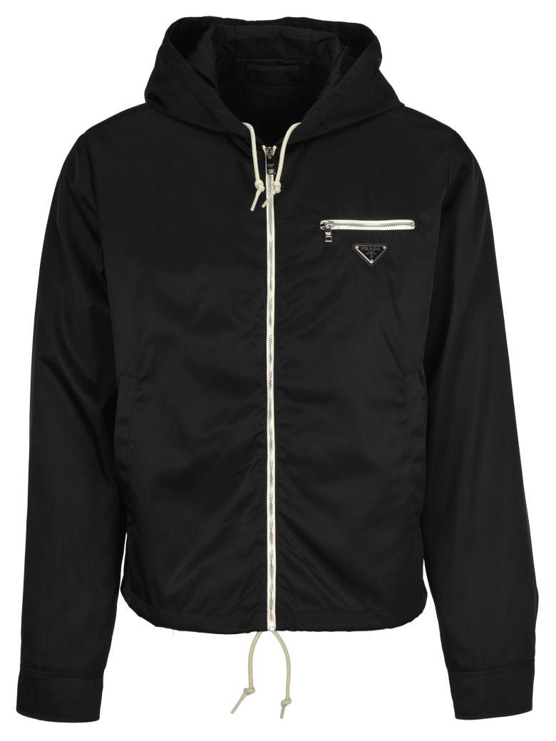 Prada Prada Windbreaker Jacket - BLACK