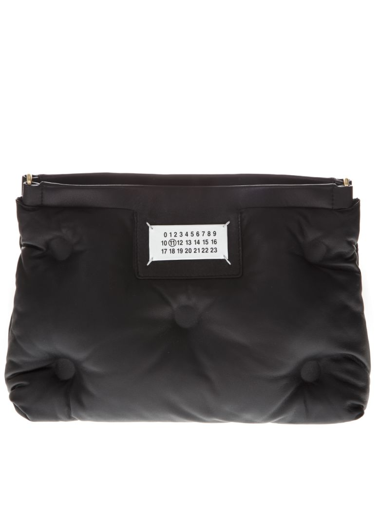 Maison Margiela Black Small Slam Glam Bag With Shoulder - Black