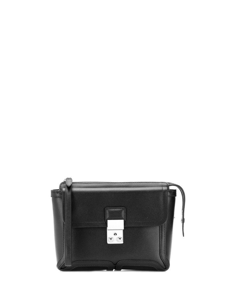 3.1 Phillip Lim Pashli Leather Clutch - Nero