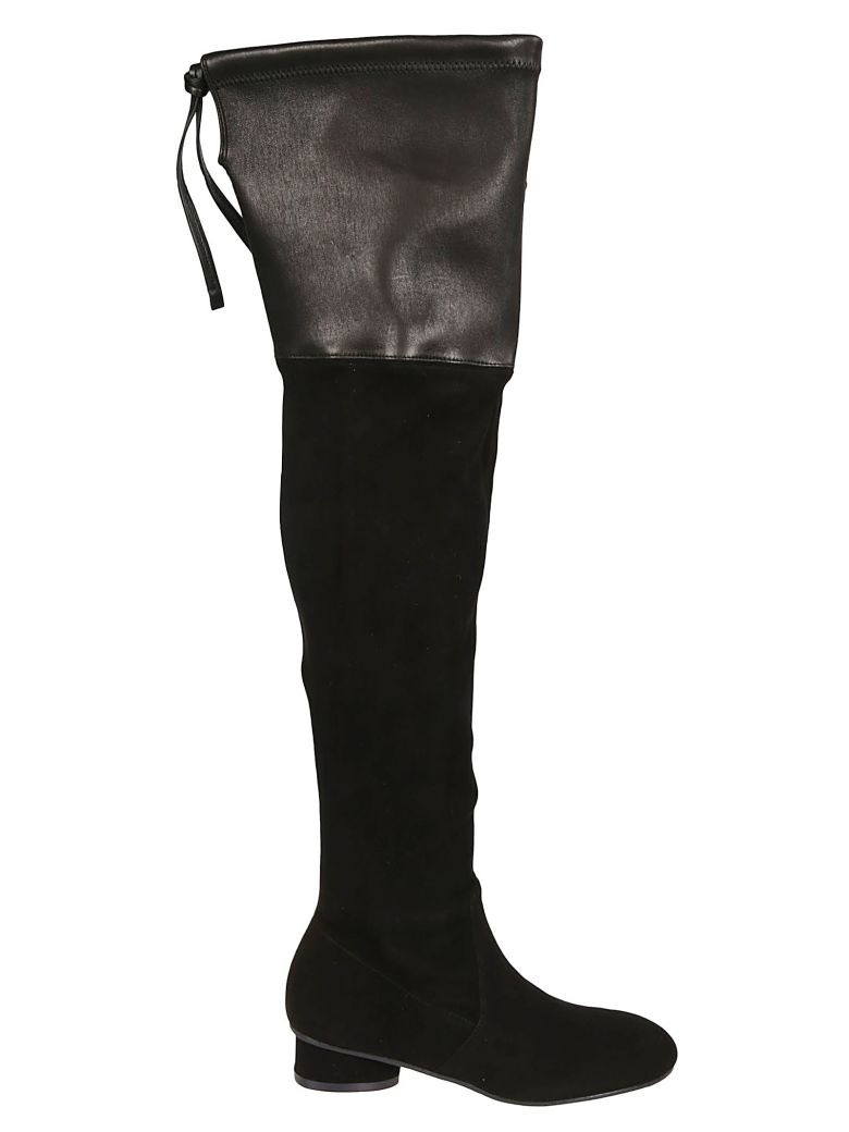 Stuart Weitzman Helena Boots - Black
