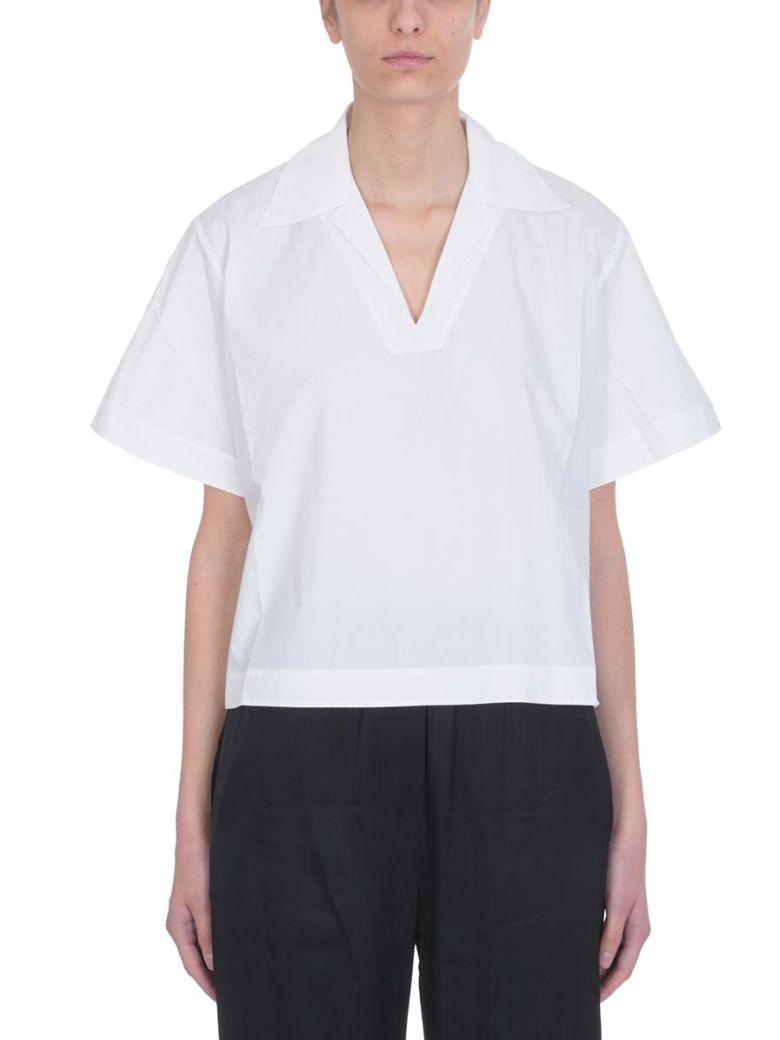 Acne Studios White Cotton Sasha Topwear - white