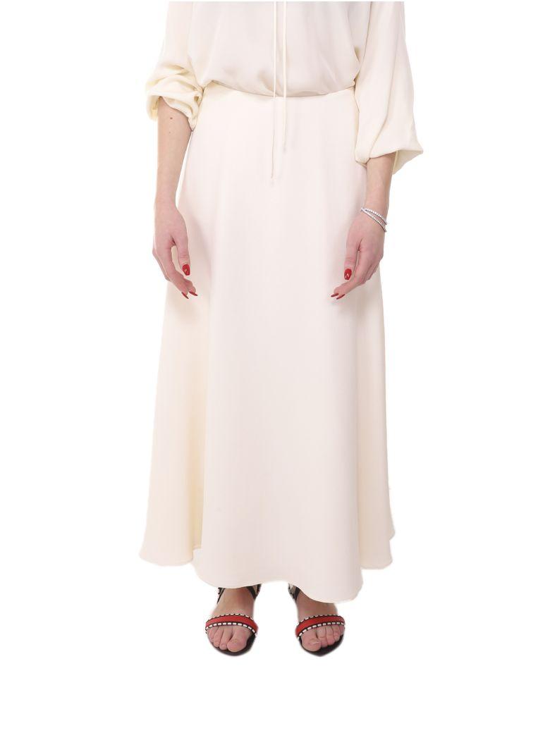 Theory Cream Yellow Skirt - Cream