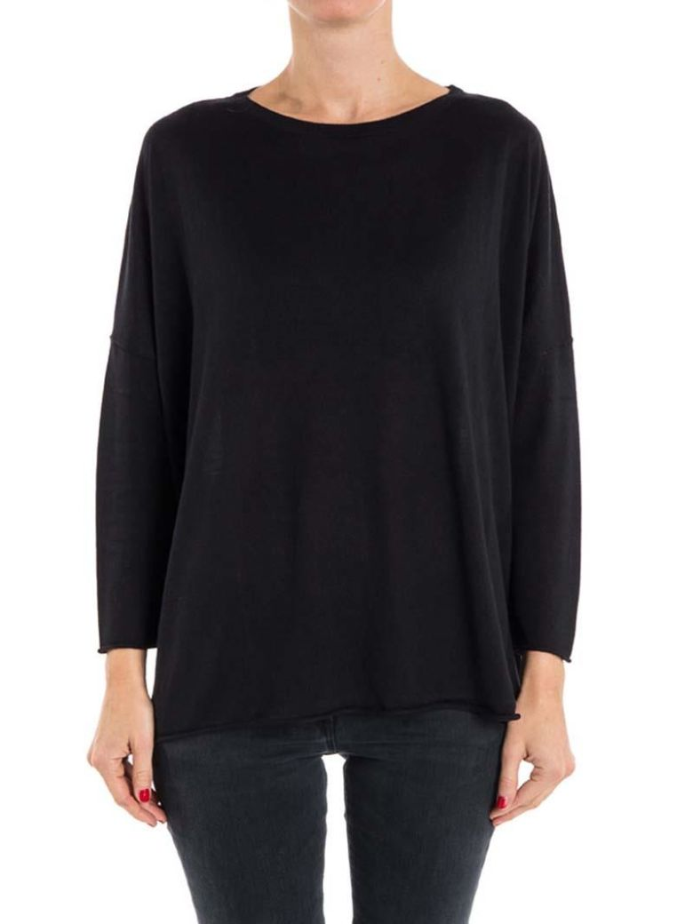 Kangra Kangra Silk And Cashmere Sweater - Black