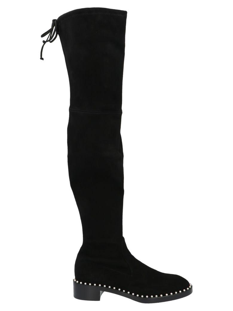 Stuart Weitzman 'lowland Pearl' Shoes - Black