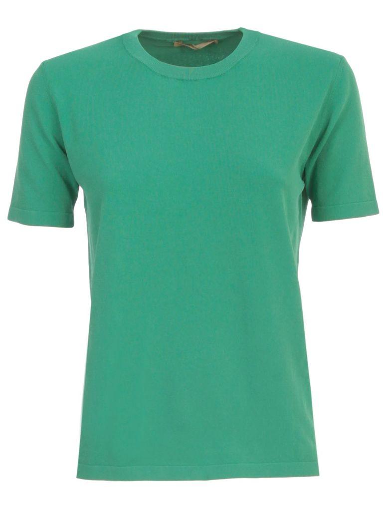 Nuur Viscose T-shirt S/s Crew Neck - Bottle