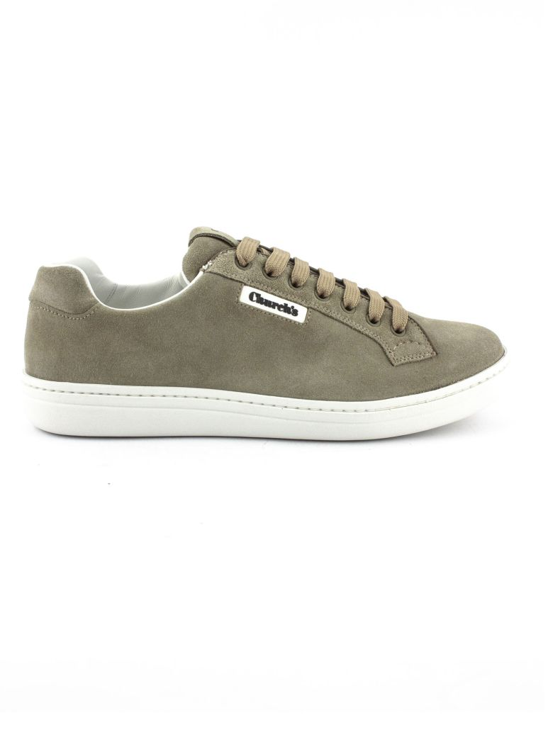 Church's Mirfield Suede Classic Sneaker Stone - Stone