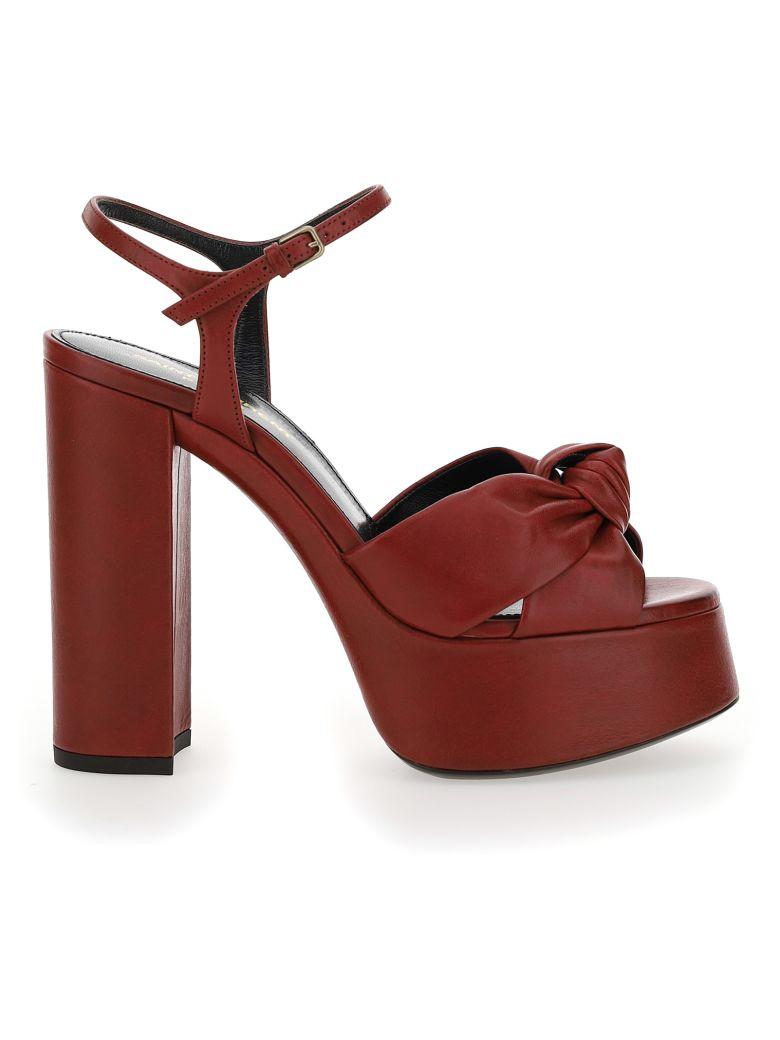 Saint Laurent Bianca Sandals - Pomerol
