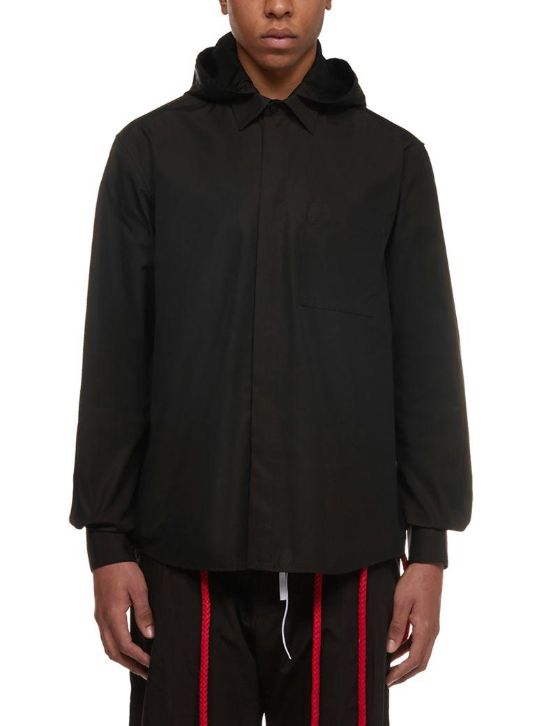 Craig Green Hooded Drawstring Shirt - Black