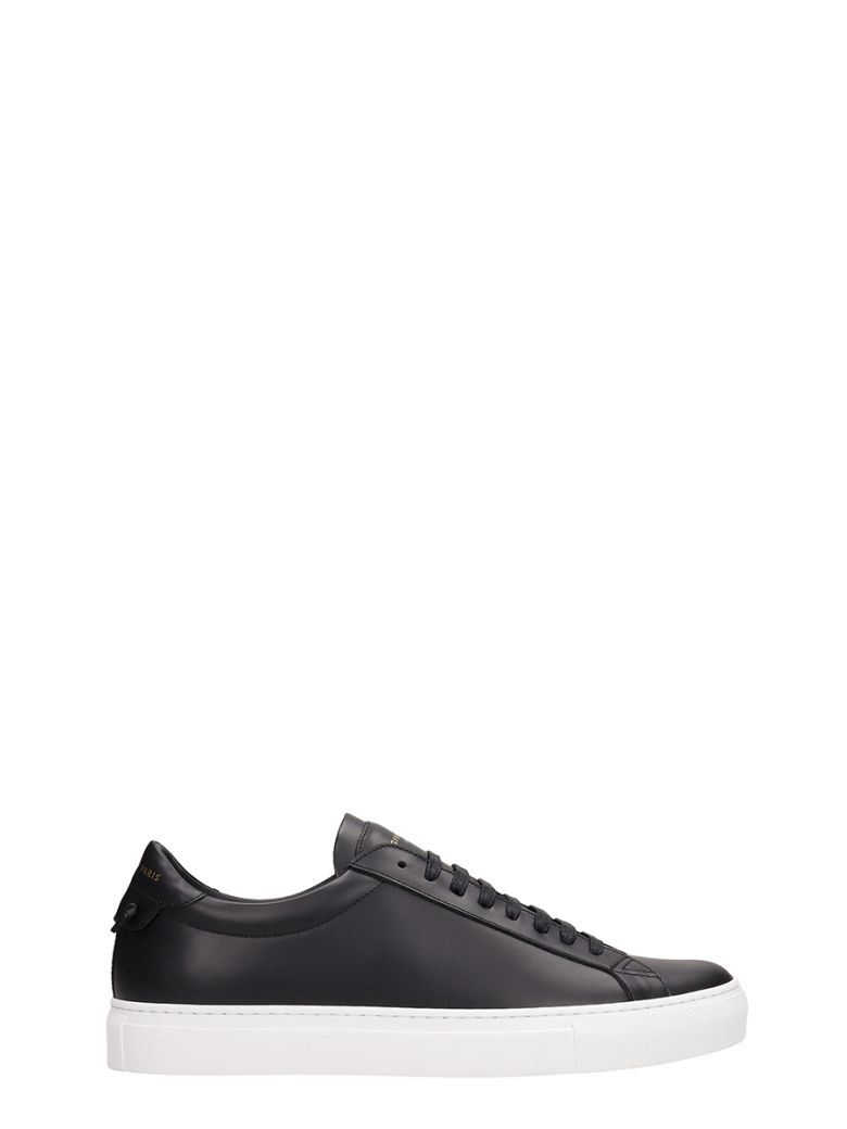 Givenchy Urb St Lo Snkii Black Leather Sneakers - black