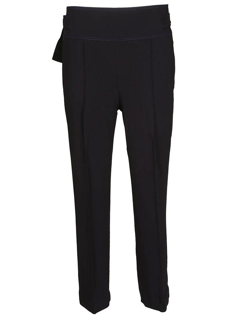 SportMax Pleated Trousers - Black