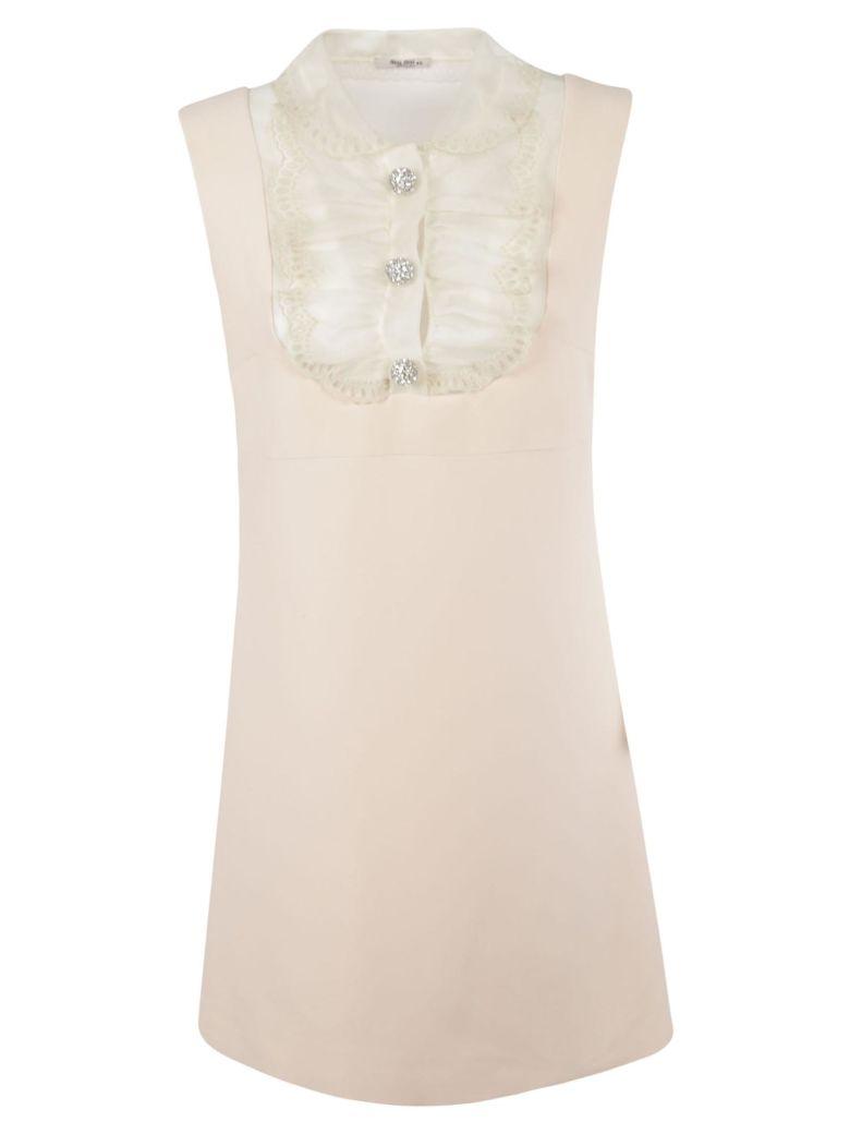 Miu Miu Crystal Embellished Dress - Magnolia