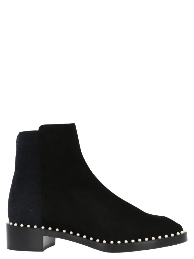 Stuart Weitzman 'easyon Pearl' Boots - Black