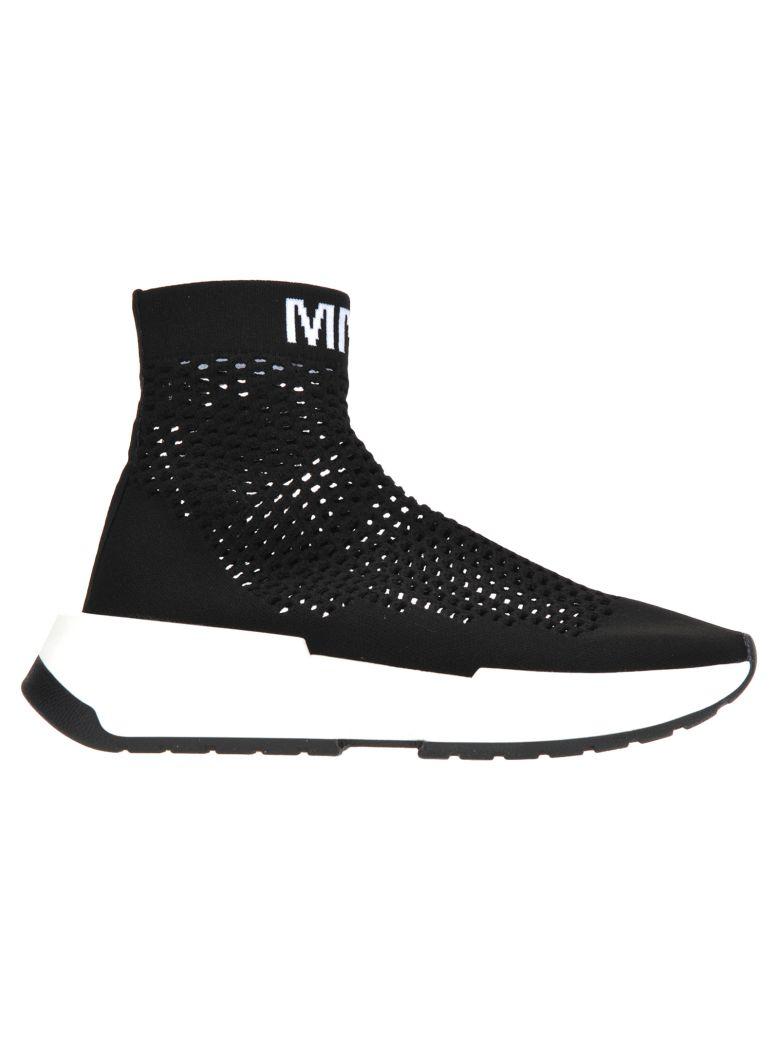 MM6 Maison Margiela Mm6 Sock Sneaker - Black